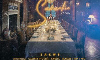 Zakwe – Sebentin (Remix) ft. Cassper Nyovest, Kwesta, Blaklez, HHP, Musiholiq & Pro