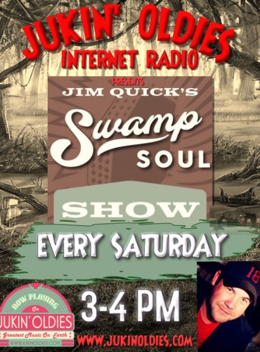 Jim Quick Swamp Soul Show Poster