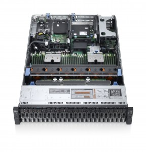 PowerEdge R720xd Rack Server - 24 HDD