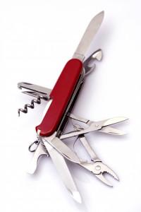 All-purpose Swiss army knife