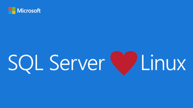 Quick note: Microsoft SQL on Linux is about giving you options
