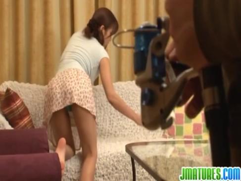 ド変態義息にセクハラされる三十路熟年女義母!おっぱいやおまんこを弄られて感じちゃうjyukujo動画