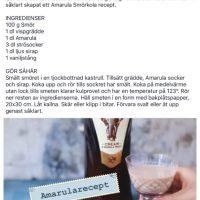 Amarula smörkola