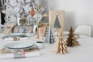 origami juletræer, DIY julepynt, julepynt DIY, organimi juletræer
