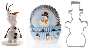 Muffinsforme med julemotiver, muffins med julemotiver, cupcakesforme med julemotiver, julemotiver muffinsforme, jule muffins, muffins jul, Kagetilbehør med Snemænd, snemand kager, kager med snemænd, muffinforme med snemand, krymmel med snemænd,