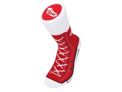 Sneakers strømper, strømper som sneakers, sjove strømper, sjove sokker, sneakers sokker,