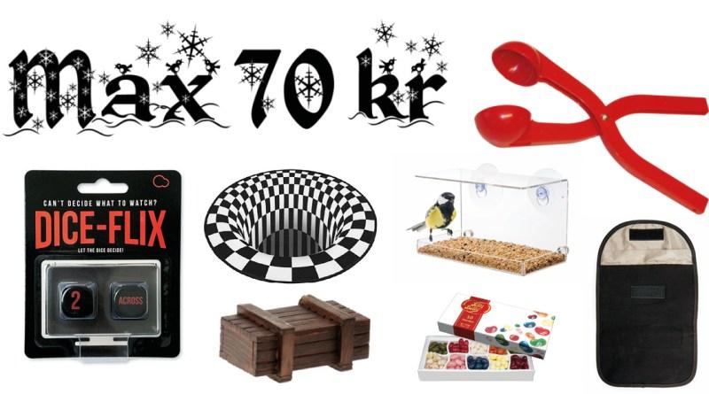 Pakkelegsgaver til 70 kr, gaver til 70 kr, pakkelegs gaver, gaver til pakkelegen, sjove gaver, mandelgaver 2021, 2021 mandelgaver
