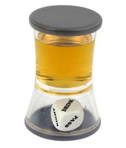 Loaded Dice, terning i shotglas, gaver til 40 kr, pakkeleg for voksne, gaver til pakkelegen, shot glas, shotsglas