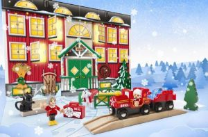 julekalender med brio legetøj, brio julekalender, julekalender til børn, julekalender til de mindste, julekalender brio, brio julekalenderen,
