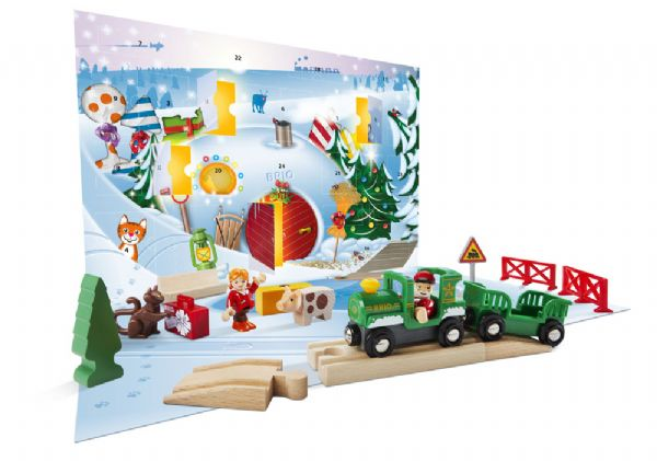 brio julekalender, julekalender til børn, julekalender til de mindste, julekalender brio, brio julekalenderen, julekalender med brio