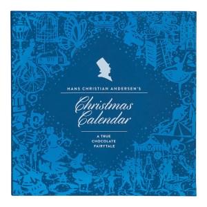 H C andersen julekalender, chokolade juleklaender med kvalitets chokolade, kvalitets chokolade julekalender, julekalender med kvalitetes chokolade 2019, julekalender med chokolade til voksne