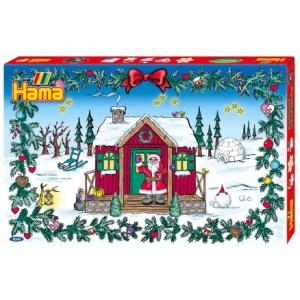 Hama midi julekalender, julekalender med perler, kreativ julekalender, Hama midi gigant julekalender, julekalender til hende, sjov julekalender, julekalender 2020, julekalender 2021