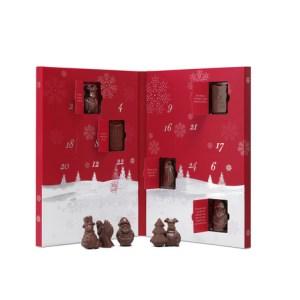 chokolade julekalender, julekalender med chokolade, voksen julekalender, chokolade julekalender til voksne