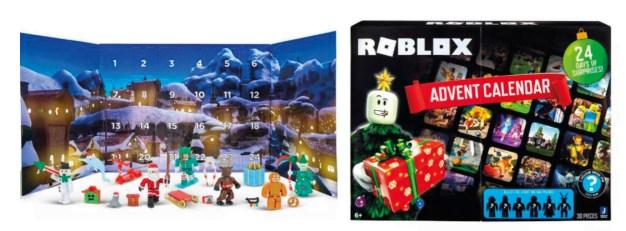 Roblox adventskalener, adventskalender til drenge, julekalender med Roblox, julekalender 2021,