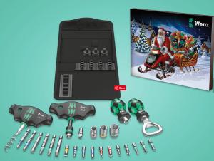 værktøj julekalender, julekalender til mænd, julekalender med værktøj, anderledes julekalender til mænd