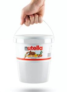 nutella, stor nutella, 3 kg nutella, gaver til studerende, gaver til teenagere
