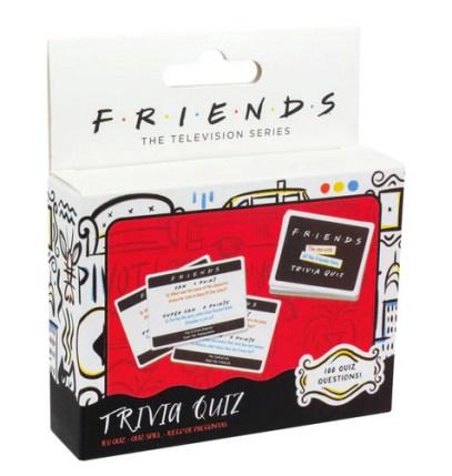 Friends Trivia Quiz, friends quiz spil, quiz spil med friends, quiz spil med venner, pakkelegsgaver, gaver til pakkeleg