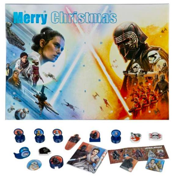 Star wars julekalender 2021, star wars julekalender, julekalender med star wars, julekalender til børn, legetøjsjulekalender til børn, legetøjsjulekalender til drenge