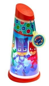 Pj mask lampe, Pj mask natlampe, natlampe med PJ mask, Pyjamas heltene natlampe, Pyjamas heltene lampe