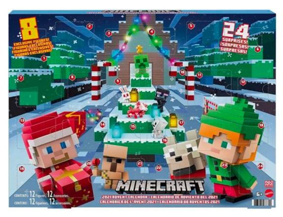 Minecraft julekalender, julekalender med minecraft, julekalender 2021, julekalendere til drenge, julekalenere til pigere, anderledes julekalendere