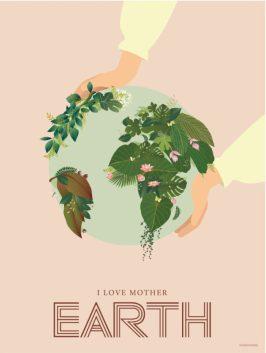 Romantiske gaver, kærlighedsplakater, plakater med kærlighed, Vissevasse plakat, plakat fra Vissevasse