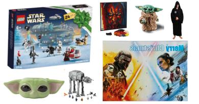 Star Wars julekalender, julekalender med star Wars, julekalender til drenge, julekalender til børn, julekalener 2021, 2021 julekalender til børn, legetøjsjulekalendere til børn, Gaver med Star Wars, Star Wars fan