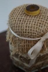 Spitzenwindlicht, Zitronen-Rosmarin-Salz, Hochzeit, DIY-Gastgeschenk