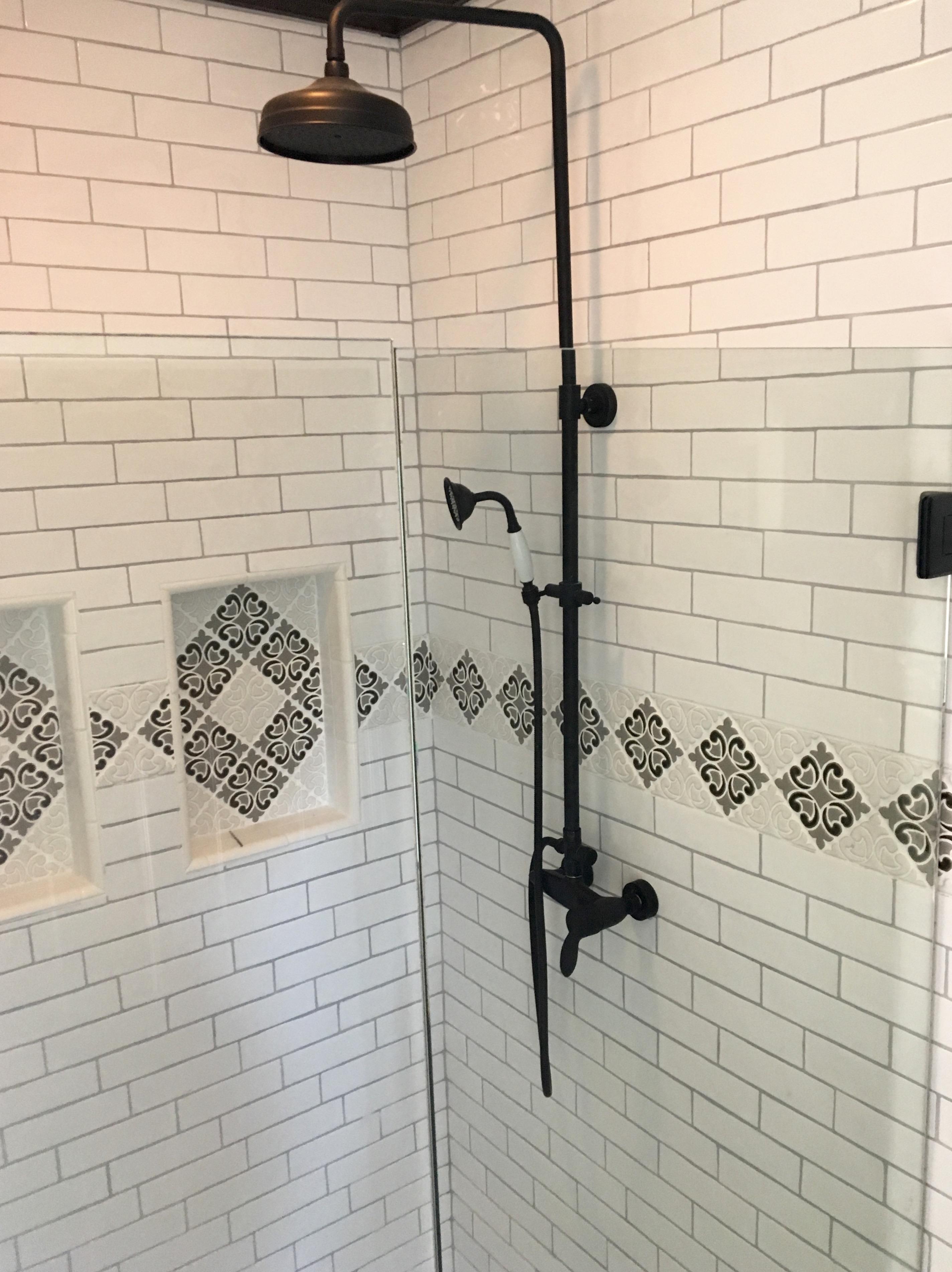 glamorous black white home renovation