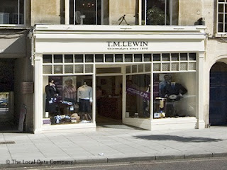 TM Lewin, Bath