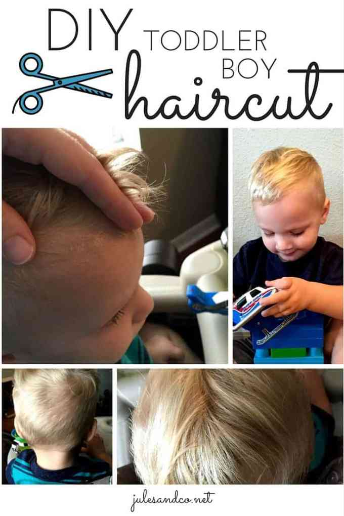 the easiest diy toddler boy haircut you've got to try