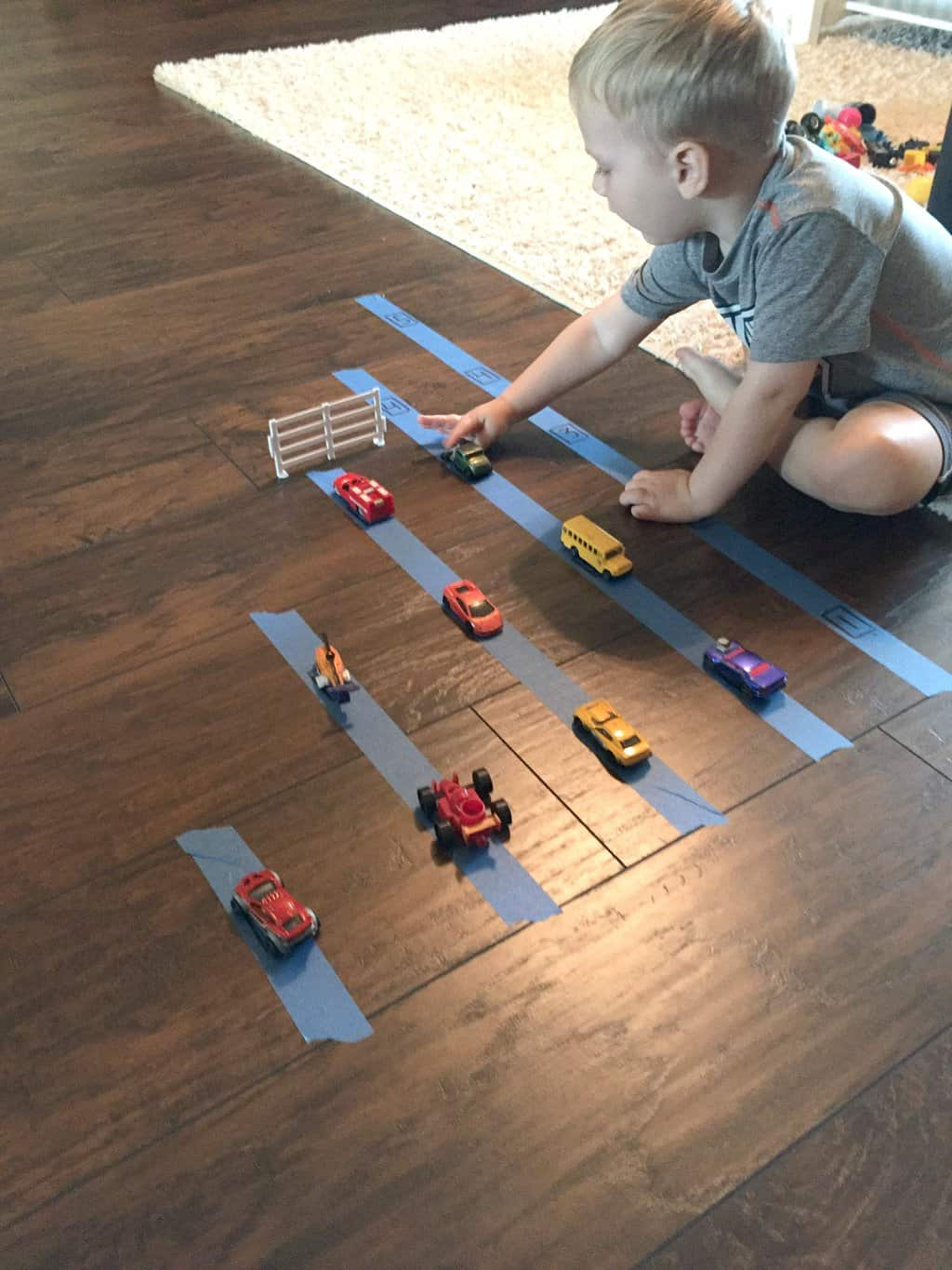 Counting And Graphing Hot Wheels Learning Activity