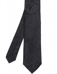 Hugo Boss Black Silk Paisley Tie