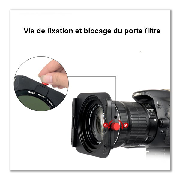 Systeme Kase K8 Holder Blocage