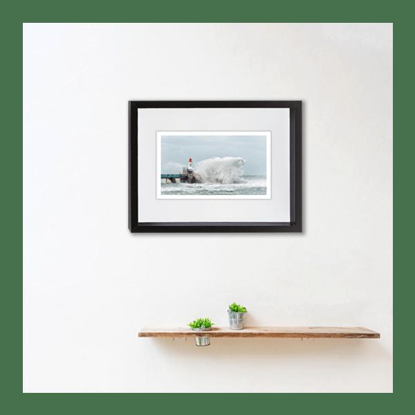 Yvon HAZE Polar Bear in the storm