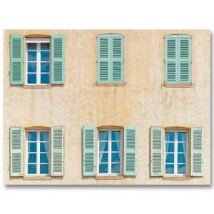 4O - 2F, Les facades de Saint-Tropez. 4 Ouvertes et 2 Fermées par Yvon HAZE