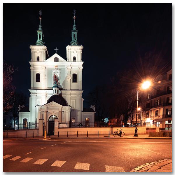 Bazylika św. Floriana w Krakowie, la Collégiale de Saint-Florian est une église historique de Cracovie, en Pologne. Par Yvon HAZE