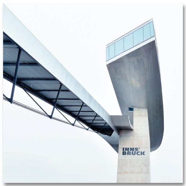 Le tremplin de Bergisel par Yvon HAZE