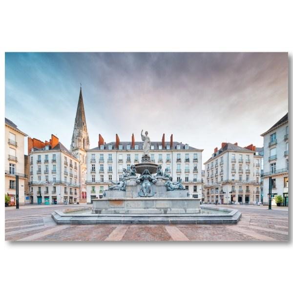 La place Royale de Nantes par Yvon HAZE