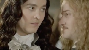 versailles - M and P smug smiles