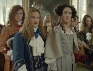 versailles - m and p in a dress-h
