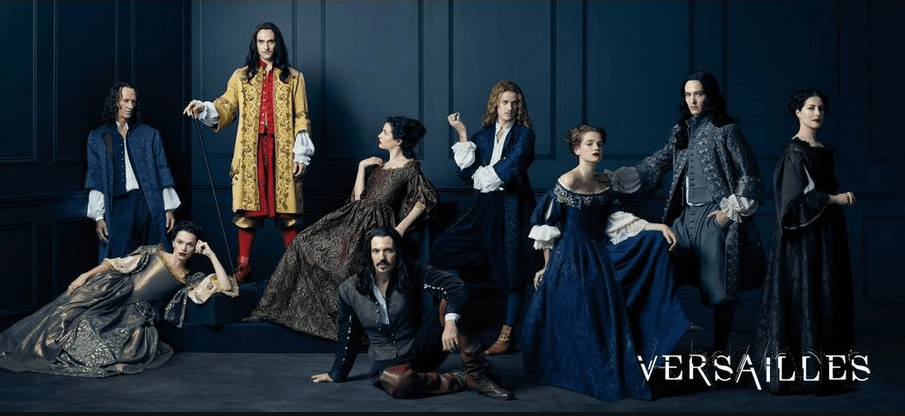 The One Where I Talk Versailles (the series) and Writing
