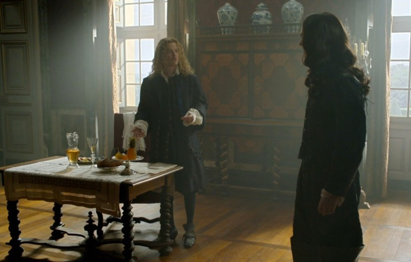 Versailles Series 2 - Episode 4 - the one with the candelabra and the cat fight