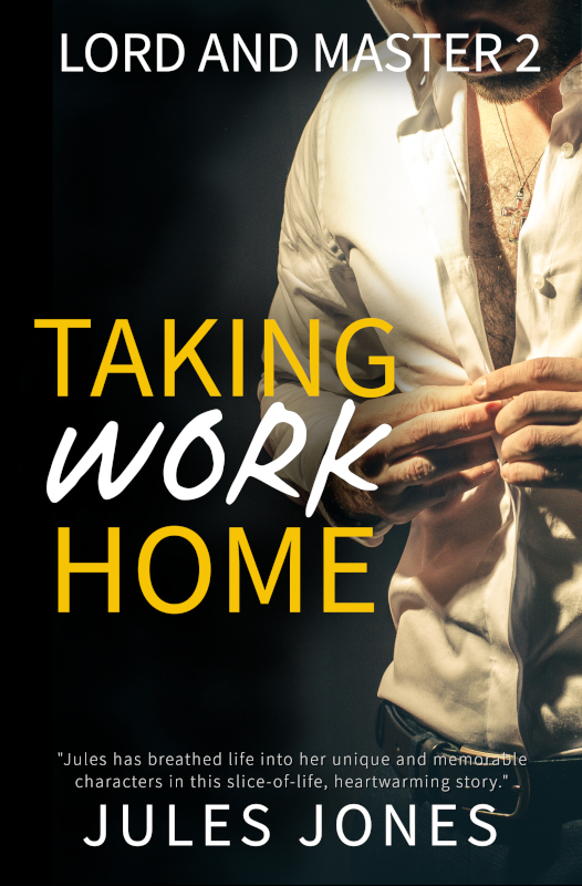 Cover art from Taking Work Home. Artist Alex Beecroft.