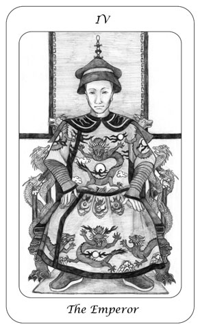 Tarot Card 4 - The Emperor - Boswell - julesknowlton