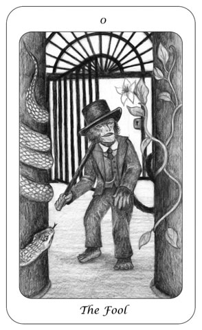 Tarot Card 1 - The Fool - Boswell - julesknowlton