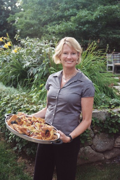 Fig and Gorgonzola Flatbread, from Todd English recipe in Food & Wine