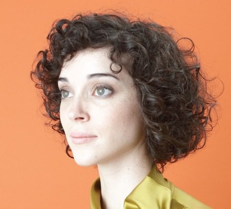 "Cover of CD ""Actor"" by St. Vincent (yes, she goes by that name)"