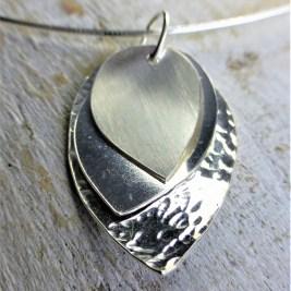 Silver Petals Pendant £58.00