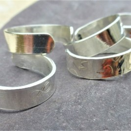 Selection of Sterling Silver Toe Rings are available.
