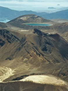 Distant view of Blue Lake